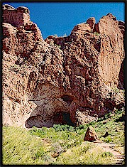 The Grotto in Camelback Mountain.