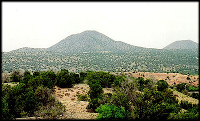 Mt. Chalchihuitl, in New Mexico.