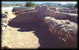 "The Hohokam people built this ""platform mound"" more than six centuries ago!"